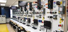 Programmable Logic Controller PLC Lab | SCIT Southern California Institute of Technology