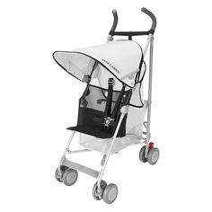 Maclaren Volo Stroller - Silver/Black - WM1Y010192