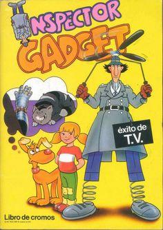 Inspector Gadget album cromos