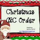Freebie - This activity contains  4 lists of Christmas words for students to enjoy putting into abc order.