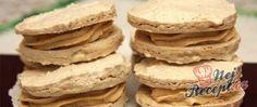 Recept Ořechové domácí laskonky Creme, Pancakes, Breakfast, Savory Foods, Top Recipes, Oven, Food Portions, Pancake, Morning Breakfast