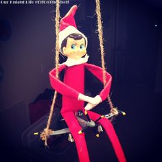 Elf Rides Dusty Crophopper - Disney Planes #Elfontheshelf Our Knight Life