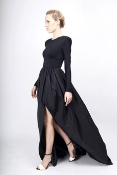 Rochie din tafta cu lycra Modern Muse, Black Tie, My Wardrobe, Ball Gowns, Cool Outfits, Dress Up, Take That, My Style, Clothes