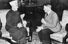 What is the link between Hitler and Islam? Adolf Hitler financed Muslim Brotherhood and Muslim troops fought for Hitler as Waffen SS Divisions. As you can see, Muslim Brotherhood . World History, World War Ii, Ww2 History, Jewish History, History Photos, Joachim Von Ribbentrop, Yasser Arafat, Islam, Etat Major