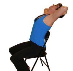 Výsledek obrázku pro UPPER BACK STRETCH chair