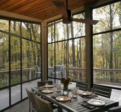Indoor Outdoor Dining Room