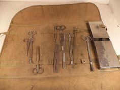 1912 Funeral Home POST MORTEM Tool Kit by FRED HALSM Company WEIRD & UNUSUAL | eBay