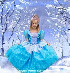 Elsa+the+winter+Princess+inspired+dress+by+7dwarfsworkshop+on+Etsy,+$84.99