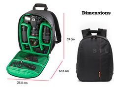 Dslr #compact #backpack #camera case bag for canon eos 5ds 5dsr 750d 760d,  View more on the LINK: http://www.zeppy.io/product/gb/2/231826952686/