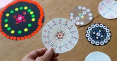 Sticker mandala art for kids is an easy and fun way to create mandala art using one of children's favorite arts and crafts materials.