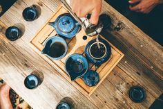 Gongfu Cha: the art of making tea with patience practice and a community to share with.