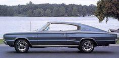 1966 Dodge Charger 383 Blue