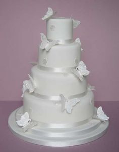 Tartas de boda con mariposas: fotos de las mejores | Ellahoy