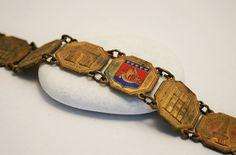 Vintage Paris bracelet. Souvenir. French by chicvintageboutique