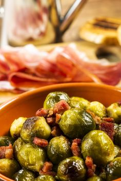 Side Dish Recipe: Roasted Brussels Sprouts With Balsamic Vinegar & Pancetta