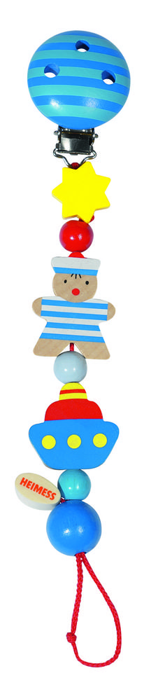 Heimess Dummy Clip - Sailor Dummy Clips, Baby Accessories, Tweety, Wind Chimes, Smurfs, Toys, Sailor, Activity Toys, Clearance Toys