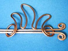 hair clip hair stick hair accessories hair pin by ElizabellaDesign