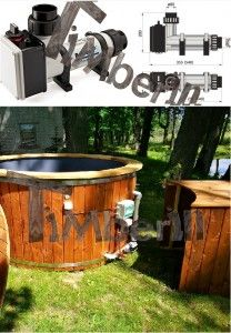 Electric_heater_6kw_(2) Fiberglass lined hot tub with integrated burner thermo wood [Wellness Royal]
