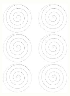 General Quilling : This is the pattern for the spiral rose Felt Flowers, Diy Flowers, Fabric Flowers, Paper Flowers, Felt Crafts, Paper Crafts, Decoration Evenementielle, Decorations, Fleurs Diy