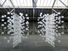 Koji Takaki from Cloth & Memory {2} at Salts Mill, Saltaire.
