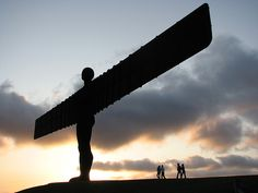 Angel of the North, Newcastle by Taylor Dundee.  One of favourite pieces of modern sculpture in the UK.