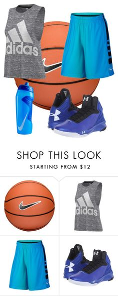 """It's in My Blood"" by lizzylandis on Polyvore featuring NIKE, adidas and Under Armour"