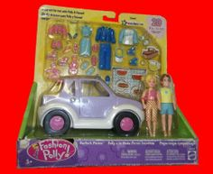 Fashion Polly Pocket & Steven Dune Buggy Perfect Picnic Set 2002 by Mattel. $59.99. Polly Pocket with new friend, Steven. Perfect Picnic!. 2 dolls, 1 car and 20 accessories.