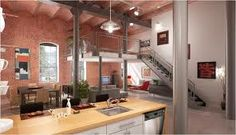 I dream of living in a loft... Maybe in Maine if I that's where I go.