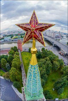 Звезда Боровицкой башни (airpano.ru)