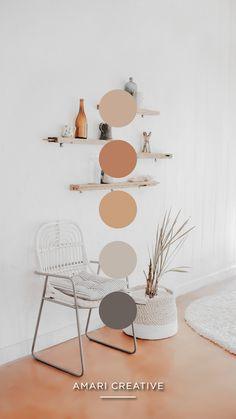 Color Palette by Amari Creative Brand Studio Colour Pallete, Colour Schemes, Room Colors, House Colors, Colours, Living Room Decor, Bedroom Decor, New Room, Color Inspiration