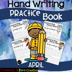 It& fun and perfect for your early writer. 1st Grade Activities, 1st Grade Worksheets, Preschool Activities, Hand Writing, Writing A Book, Whatsapp Spy, Fluency Practice, Free Education, Teaching Kindergarten