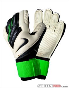 Nike Premier SGT Goal Keeper Gloves - White with Green and Black...$107.99