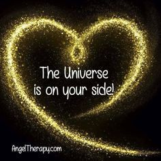 The universe is on your side Happy Thoughts, Positive Thoughts, Positive Vibes, Positive Quotes, Quotes To Live By, Me Quotes, Daily Quotes, Qoutes, Positive Affirmations