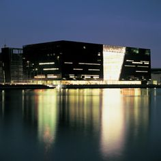 Den Sorte Diamant. En tilbygning til Det Kongelige Bibliotek