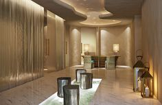 Lobby of the Six Senses Spa at Hotel Missoni Kuwait