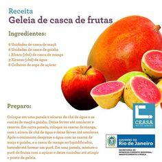 geleia de casca de frutas
