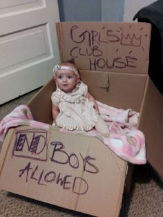 but boy's clubhouse, no girl's (except momma) allowed
