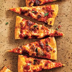 Pizza Arrabbiata | MyRecipes.com