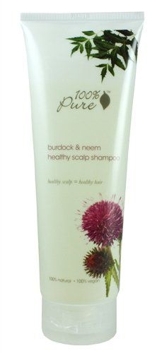 100 Pure Burdock and Neem Healthy Scalp Shampoo 80 Fluid Ounce * To view further for this item, visit the image link.Note:It is affiliate link to Amazon.