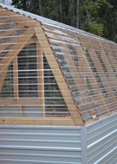 Easy Diy Garden Projects You'll Love Greenhouse Panels, Diy Greenhouse Plans, Backyard Greenhouse, Small Greenhouse, Greenhouse Wedding, Homemade Greenhouse, Portable Greenhouse, Diy Garden, Garden Landscaping