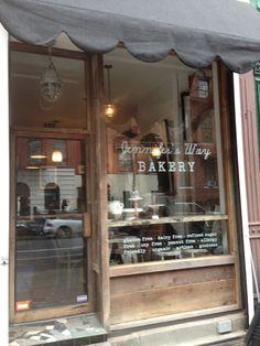 Jennifer's Way - the #glutenfree bakery opened by diagnosed celiac and award-winning actress Jennifer Esposito