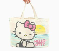 Hello kitty beach bag bag