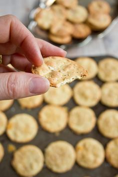 These Paleo almond crackers are great with dips and the perfect accompaniment to a cheeseboard (or a glass of wine). They are gluten free, low carb and use only 4 basic ingredients!