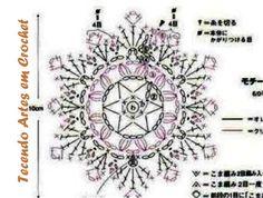 Small Crochet Coin Purse. Top. Diagram 2 of 2.  ☀CQ #crochet #bags #totes