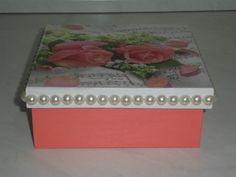"""caixa MDF """"Rosas"""""""