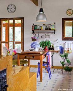 Cozinhas com alma caipira
