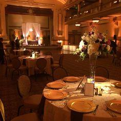 Elegant lighting design at the John Marshall Hotel in Richmond, Va.