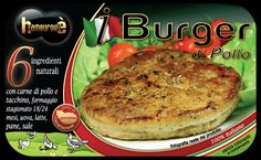 Packaging i-Burger di Pollo
