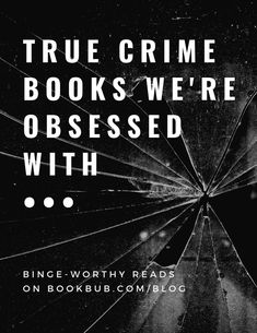 This list of recommended true crime books is full of creepy true stories. #books #nonfiction #truecrime