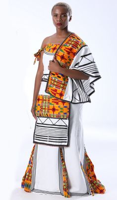 Buy Modern Bride isiXhosa & isiNdebele Dress, Shawl & Ncebethafor R3,150.00